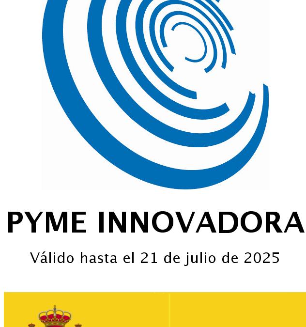 We are an innovative SME!