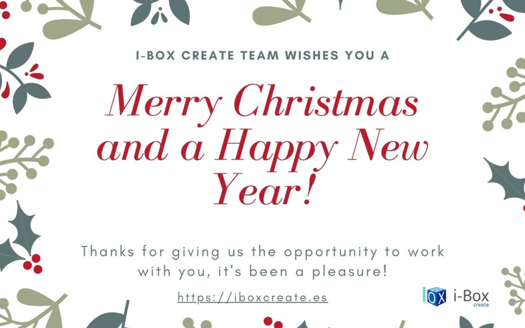 I-Box team wishes you ¡Merry Christmas and a Happy New Year!