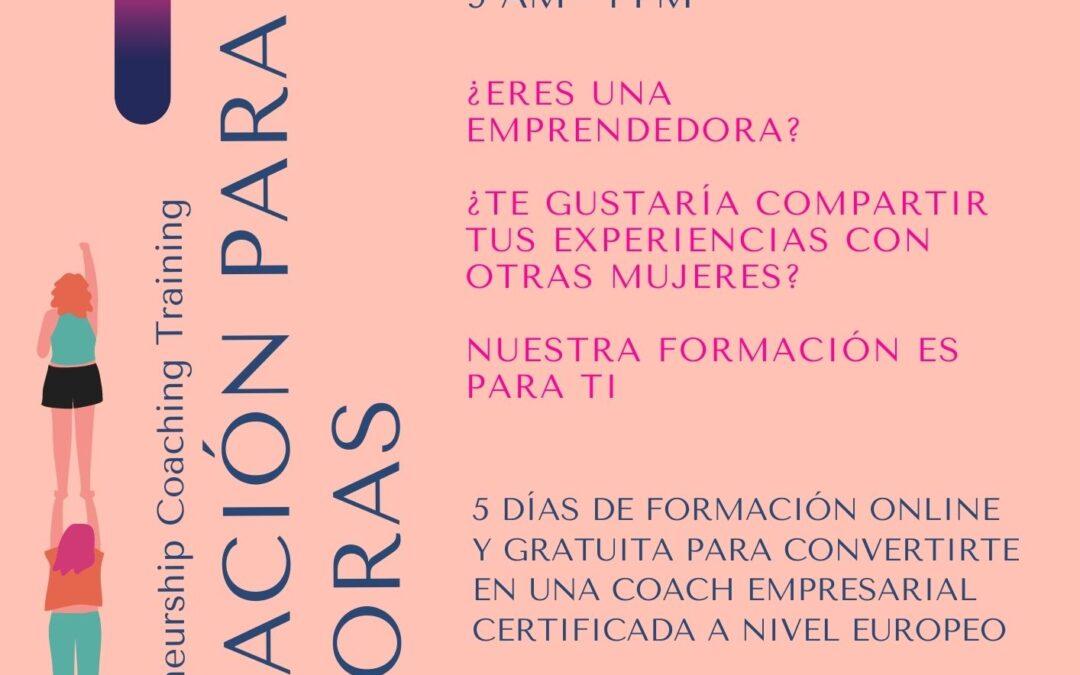 WECAN !Formación online y gratuita para mujeres emprendedoras!